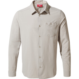 Craghoppers NosiLife Hedley Longsleeved Shirt Men, parchment
